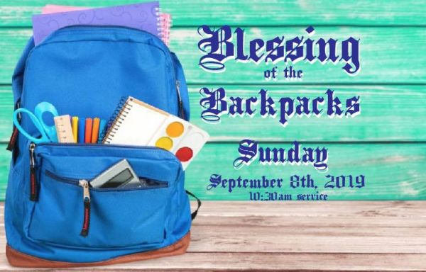 Blessings of the Backpacks