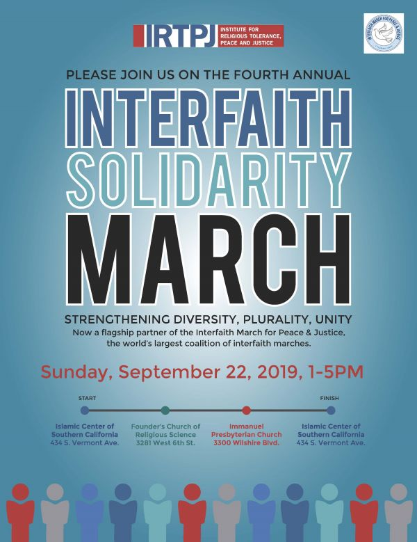 4th Annual Interfaith Solidarity March